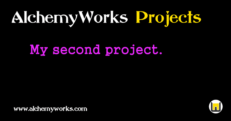 AlchemyWorks Project Guide